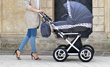 Zdjęcia reklamowe, zdjęcia z modelką, zdjęcia wózków dziecięcych, sesja wózkowa, sesja z modelką